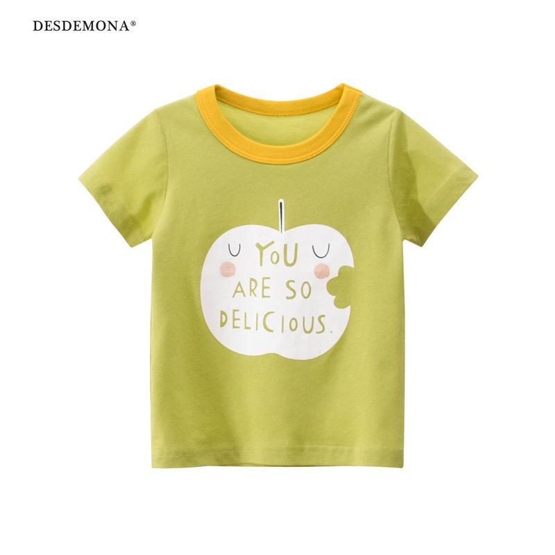 品牌童裝夏季新款兒童短袖T恤批 女童衣服寶寶上衣純棉短袖上衣 卡通T恤