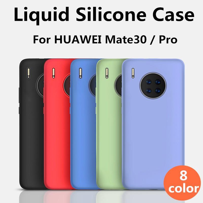 手機殼『適用於』華為 Mate 30 Pro mate30 mate30pro 5G 20 P30 Pro液態矽膠保護套