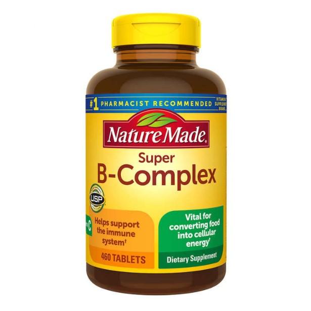 現貨折扣中 美國萊萃美 Nature Made Vitamin B-Complex 維他命 超級B群 460顆