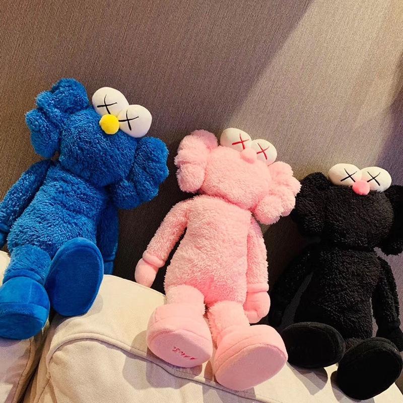 現貨 台灣出貨666芝麻街 BFF公仔KAWS曼谷藝術展芝麻街玩偶毛絨玩具林俊傑同款娃娃 耐用無氣味 耐摔耐玩