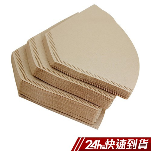 omax無漂白咖啡濾紙2~4杯用-480入(6包)