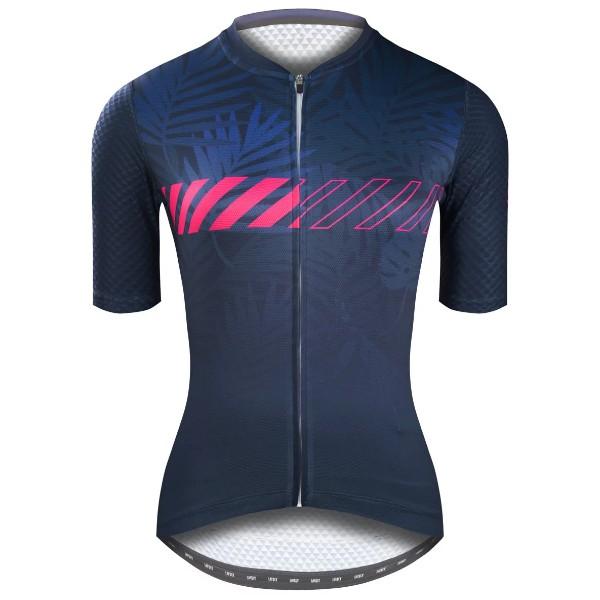 BAISKY百士奇自行車夏季女款短車衣 野燁 藍