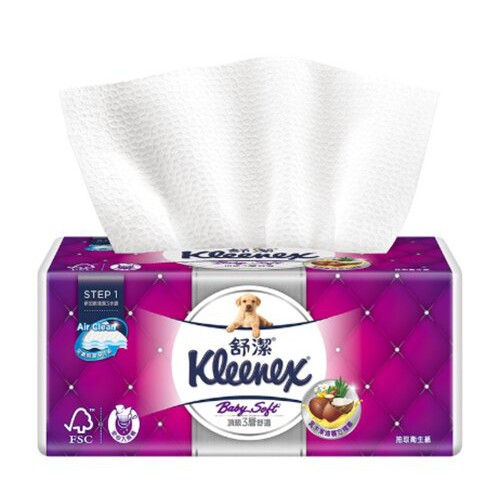 【現貨供應/快速出貨】舒潔三層抽取式衛生紙100抽(單包)