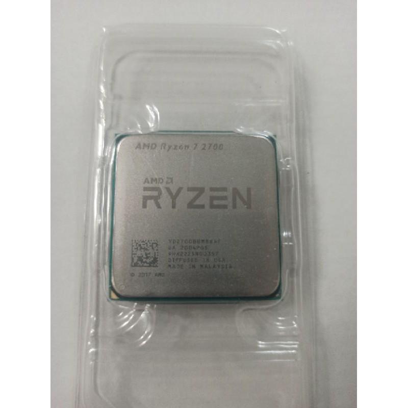 免運AMD RYZEN R7-2700 8C16T 全新散片 搭主機板 模擬器多開首選
