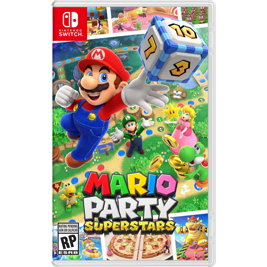 【就是要玩】現貨 NS Switch 瑪利歐派對 超級巨星 中文版 Mario party 瑪利歐派對超級巨星
