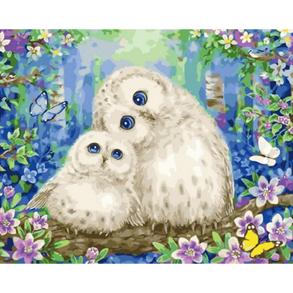 ArtLife 藝術生活 DIY 數字 油畫 彩繪 DT059愛的相依 40X50cm 現貨