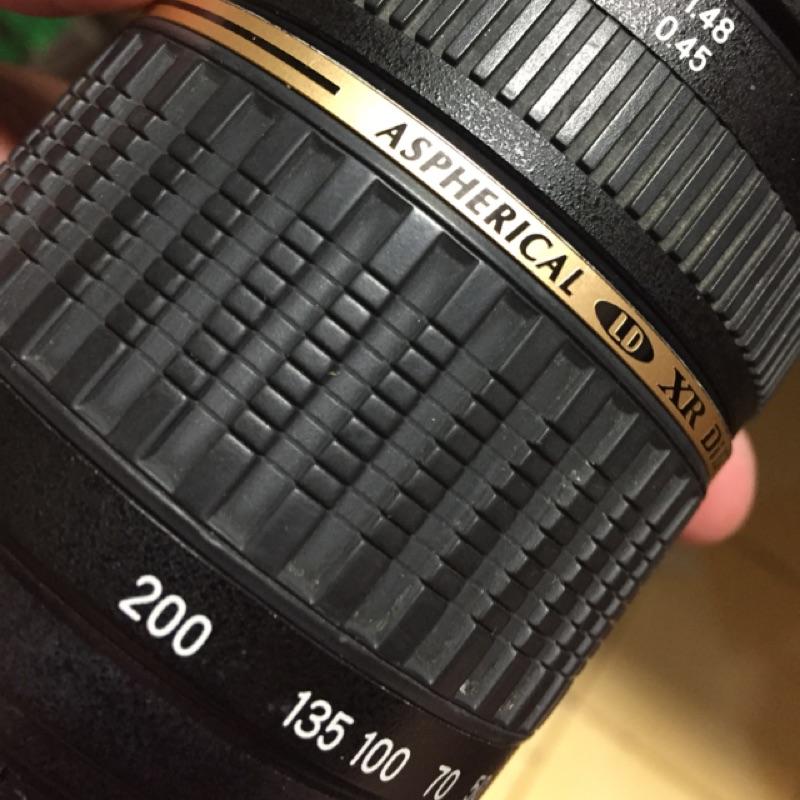 鏡頭 tamron for Nikon 18  200mm af ais 旅遊鏡 小暇疵