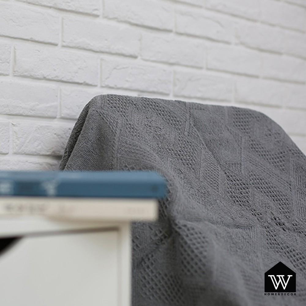 【好物良品】多功能雙面沙發毯休息蓋毯裝飾背景沙發蓋巾-低調岩灰|美式鄉村風 露營拍照神器