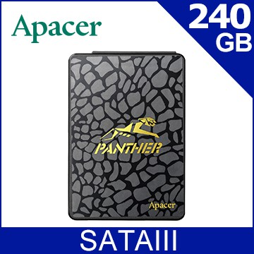 Apacer AS340 PANTHER 黑豹 240G SSD固態硬碟