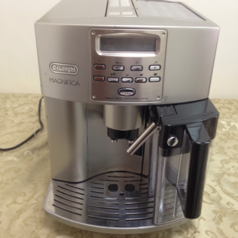 Delonghi 迪朗奇 全自動義式咖啡機 ESAM3500 義式咖啡機 全自動義式咖啡機 有奶罐 二手機