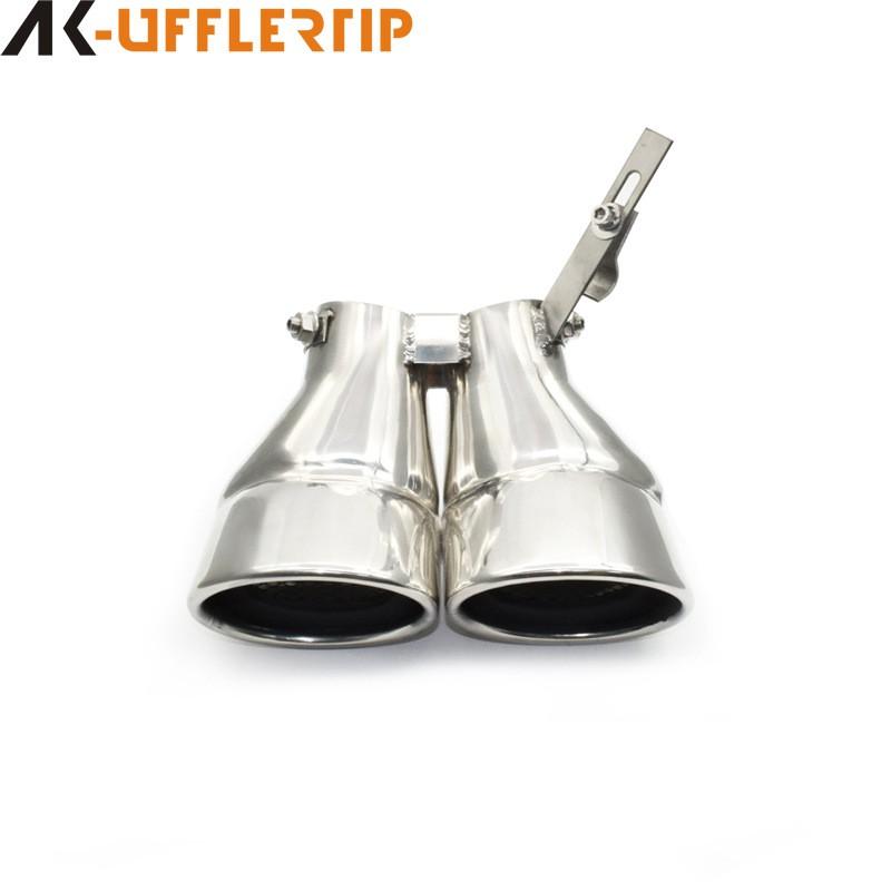 【車】賓士W203老C級C200尾喉改裝排氣管專用尾咀不銹鋼尾嘴