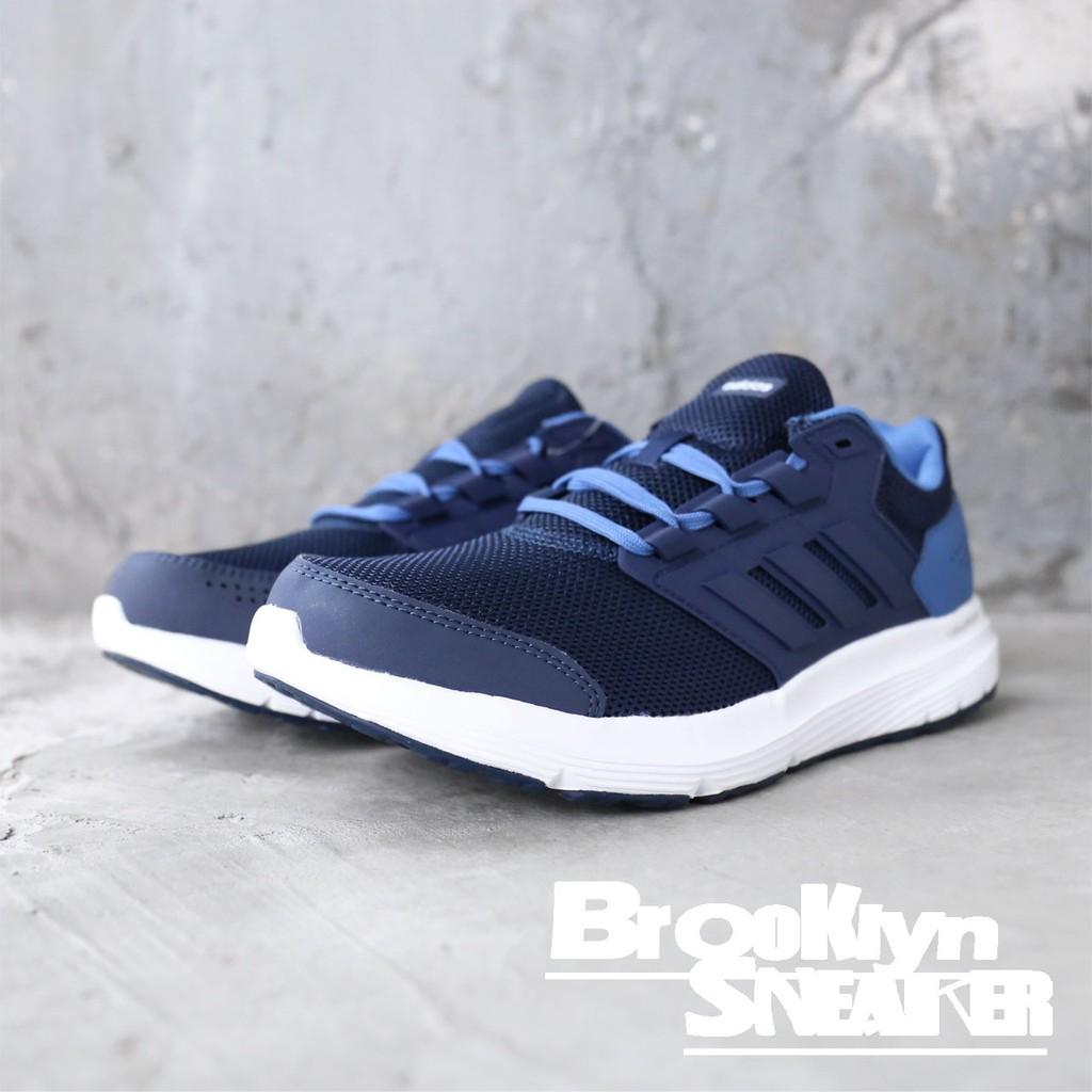 Adidas Galaxy 4M 深藍 網布 慢跑 運動 男 CP8828 ☆SP☆