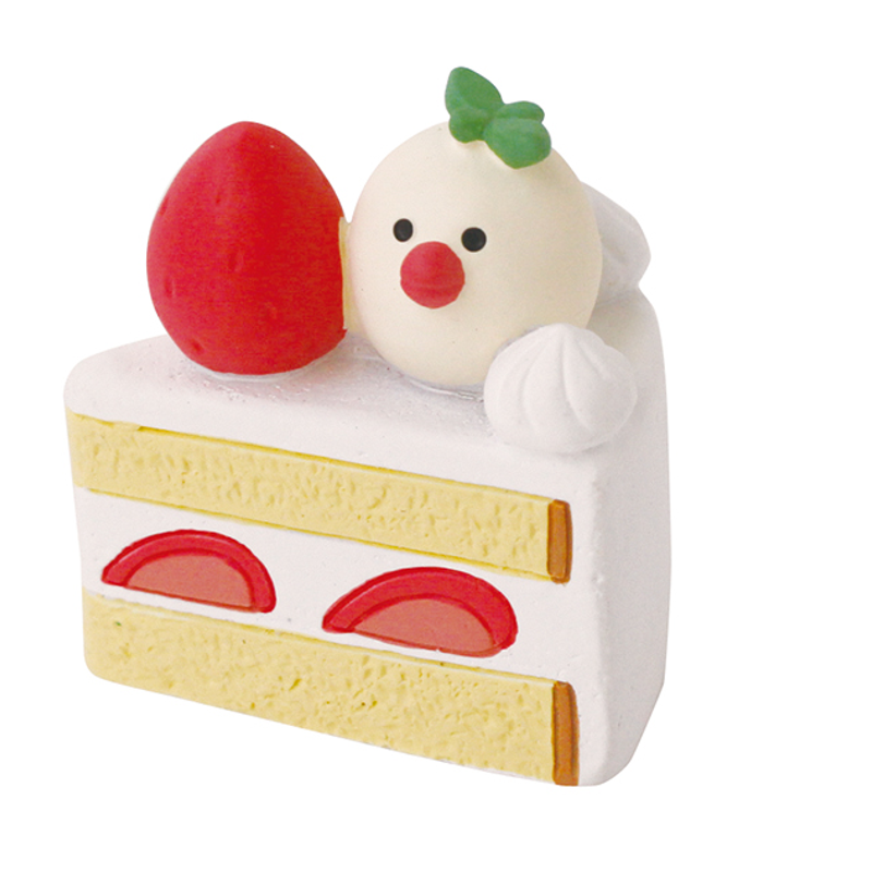 【DECOLE  concombre】草莓巧克力情人節/文鳥草莓蛋糕