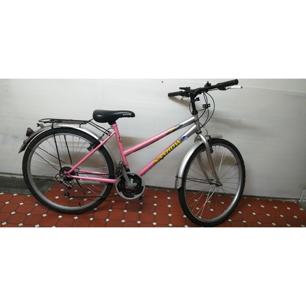 """26吋的九成新""""SANHOW"""" 腳踏車"""