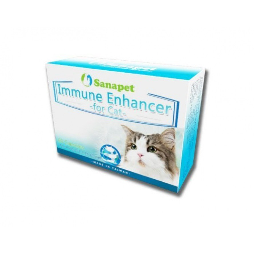 gogogo shop 桑納沛 貓體健 Immune Enhancer for Cat 60顆膠囊