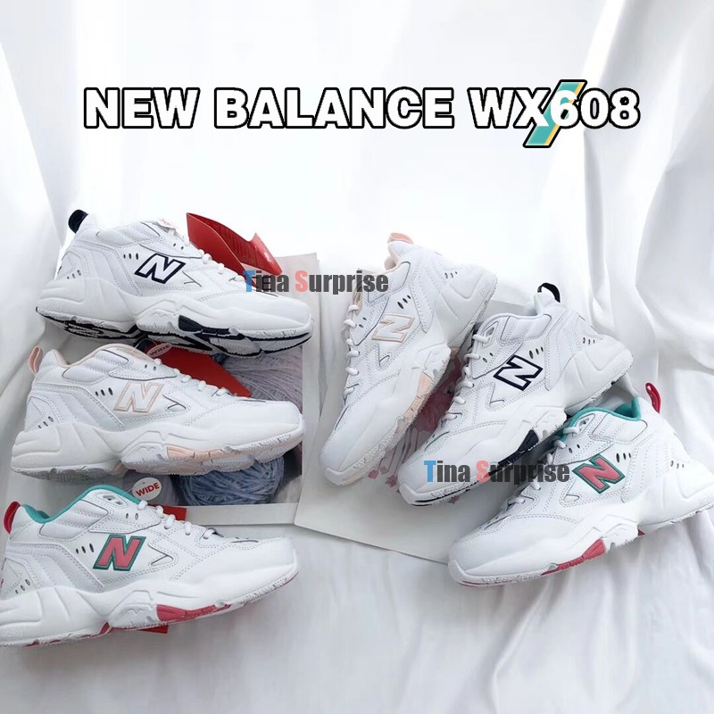 ✨正品現貨✨李智恩代言款 New Balance WX608系列復古老爹鞋 NB608慢跑鞋 運動休閒鞋 情侶鞋 小白鞋