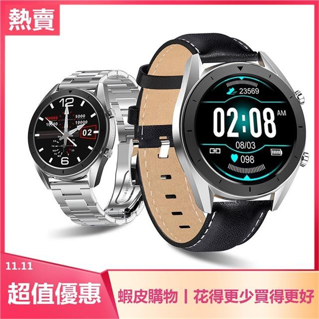 DT99全觸全圈智能手環心率血氧監測防水運動模式表smartwatch