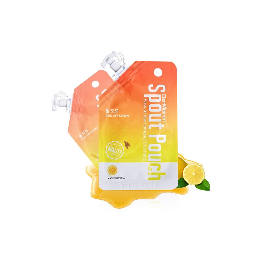 DerMeiren 韓國進口隨身便利包 清爽檸檬&蜂蜜面膜12g 買10送6 產品責任險