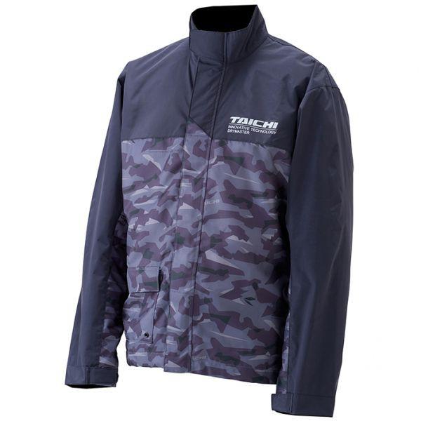 RS TAICHI 兩截式雨衣 RSR048 成套 附雨褲 附收納袋 高透氣 灰迷彩【現貨+預購|立昇門市】
