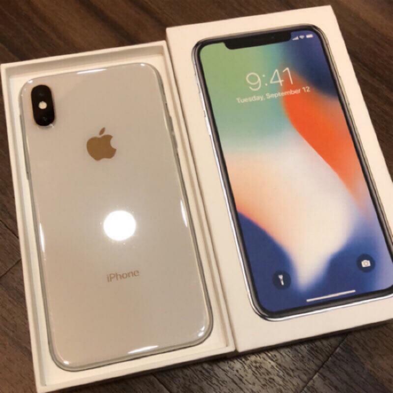 iPhone X 64g 256g 太空灰 黑色 銀色 白色 二手 自售 高雄