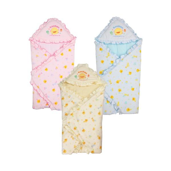 黃色小鴨 Piyo Piyo - 冬季包巾 (黃色小鴨官方直營)