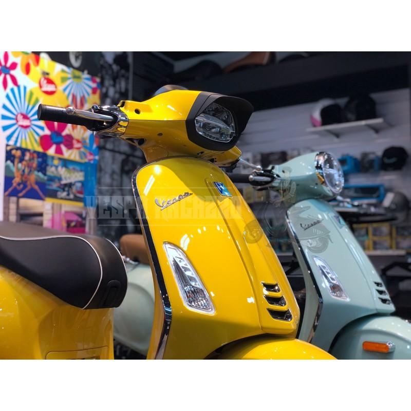 【VESPA RAGAZZO】Vespa SPRINT 衝刺 LED 版專用 Racing系列 大燈框 霧黑