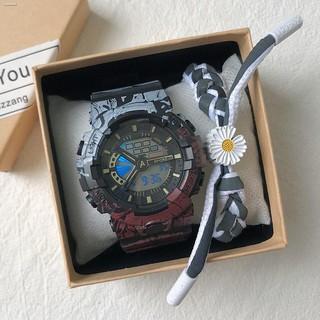 【大賴】手錶 運動手錶 電子手錶 電子錶 casio手表卡西毆手表 情侶錶  2021新款海賊王學生黨手表男女孩韓版簡約
