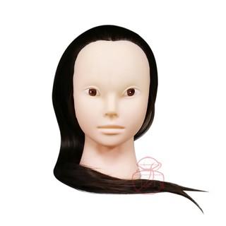 美髮練習 無妝有眼紅棕假人頭 可燙染約18吋【岡山真愛香水化妝品批發館】 高雄市