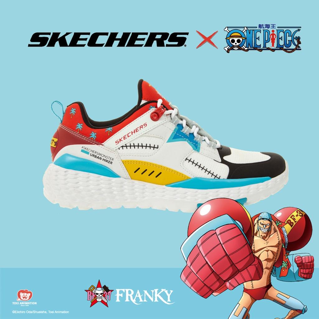 Skechers 休閒鞋 MONSTER 女鞋 航海王 佛朗基 海賊王 【ACS】 896040-WMLT