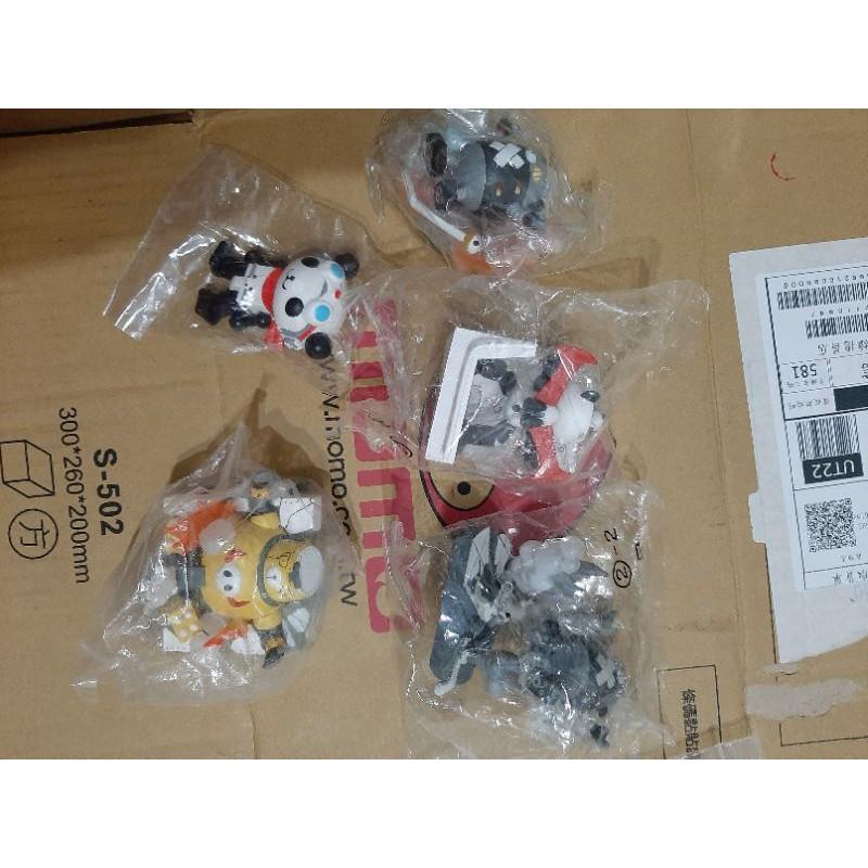 MegaHouse 盒玩 PANDA-Z 熊貓鐵金剛 迷你人型收藏集 場景組 扭蛋 轉蛋 盒玩 動物 第2彈 彩色版 w