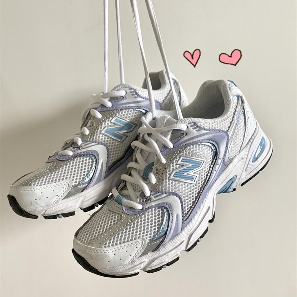 New balance NB MR530 紫色 白銀 復古 男女網布老爹鞋 跑步休閒鞋