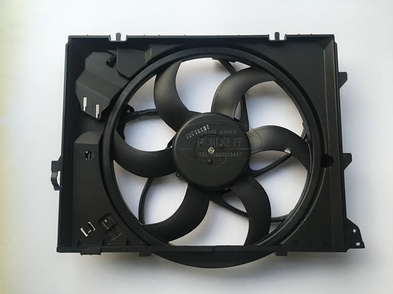 汽配熱銷適用於寶馬E87 E84 E90 E92 E93318 320 水箱電子扇散熱器風扇