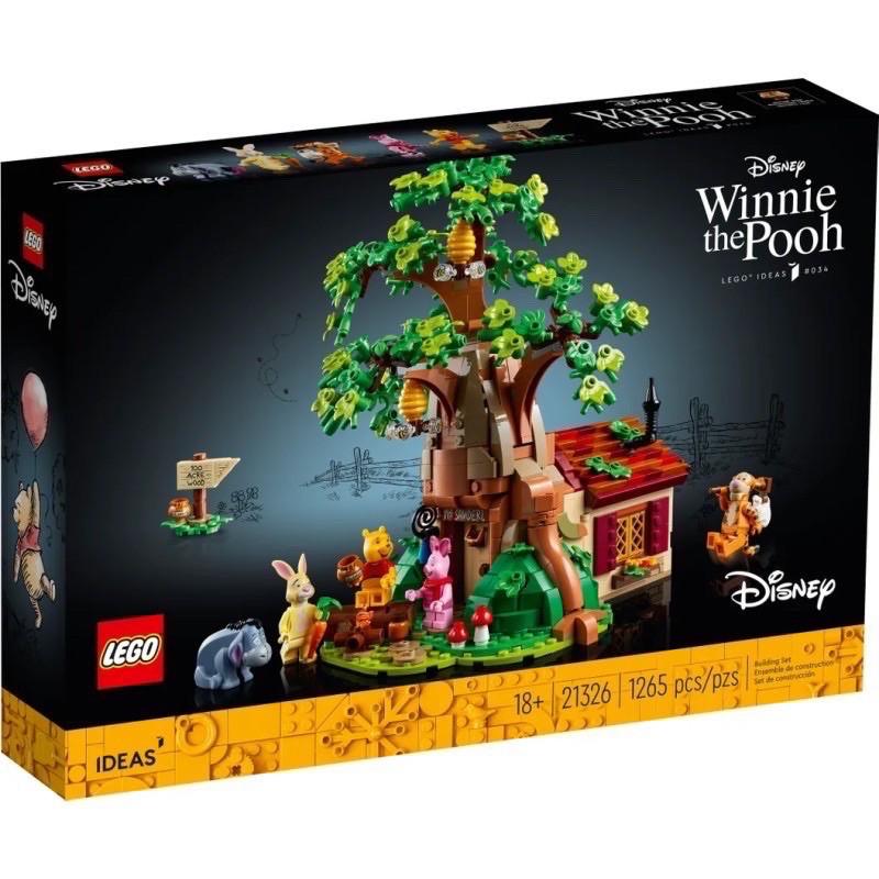 [預購]LEGO 21326 小熊維尼樹屋 可面交 樂高 小熊維尼