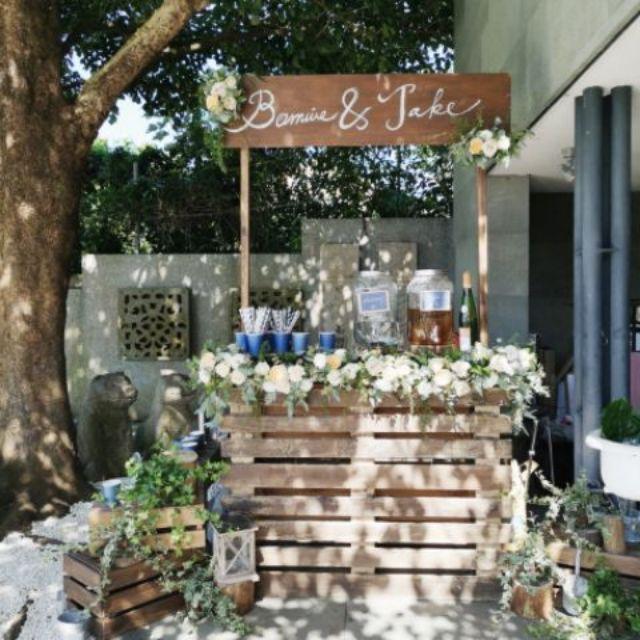 Bobbidi Boo • 木作飲料甜點Bar、Candy bar、飲料Bar、攤車出租、婚禮道具、攝影道具租借出租