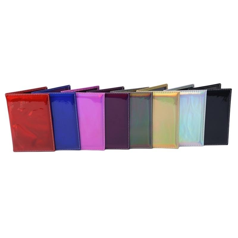 全息護照套設計師護照夾旅行卡夾盒卡錢包文件