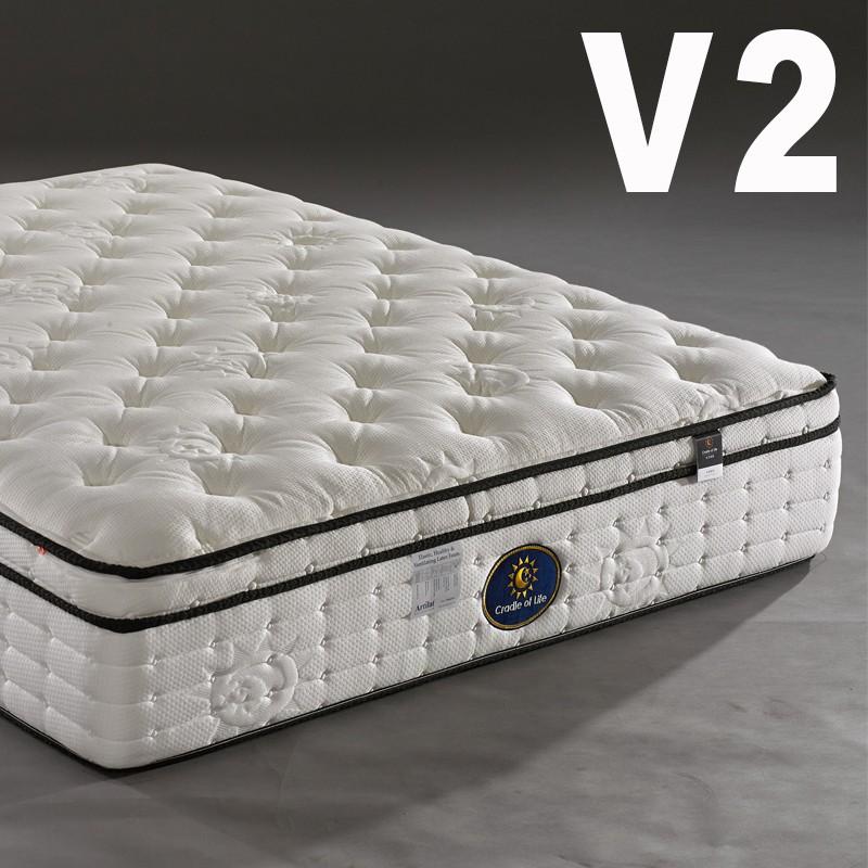 生活搖籃床墊 專屬天使系列 V2 三線獨立筒床墊