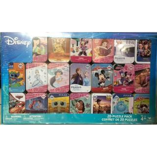 現貨不用等 直接下單 鐵盒拼圖 24片 50片 好市多拼圖 迪士尼系列 兒童拼圖 Costco Disney鐵盒拼圖 高雄市