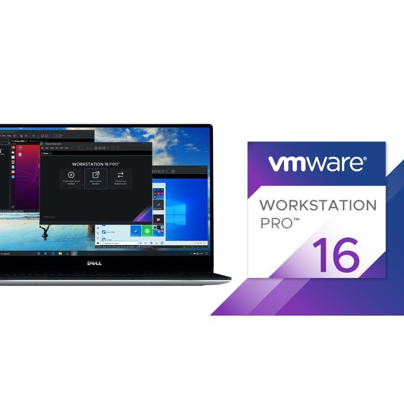 VMware Workstation Pro 16 for win 官網正式版 雙系統 虛擬機