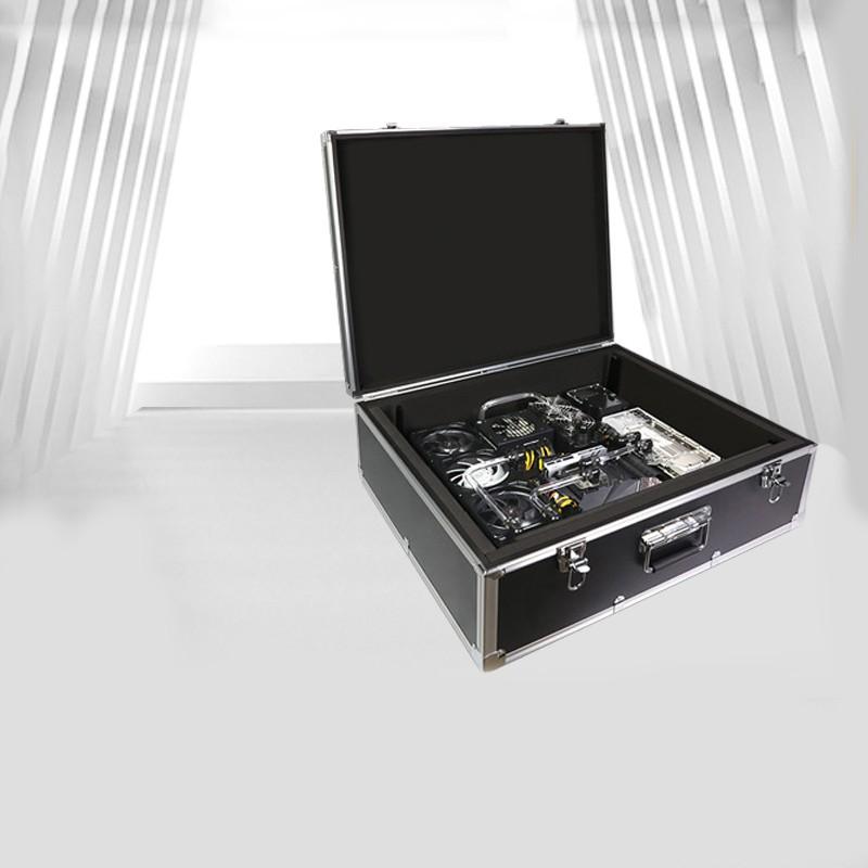 便攜ITX主機 i7 10700K/RTX 3080 移動旅行水冷電腦手提機箱#東金靚淘