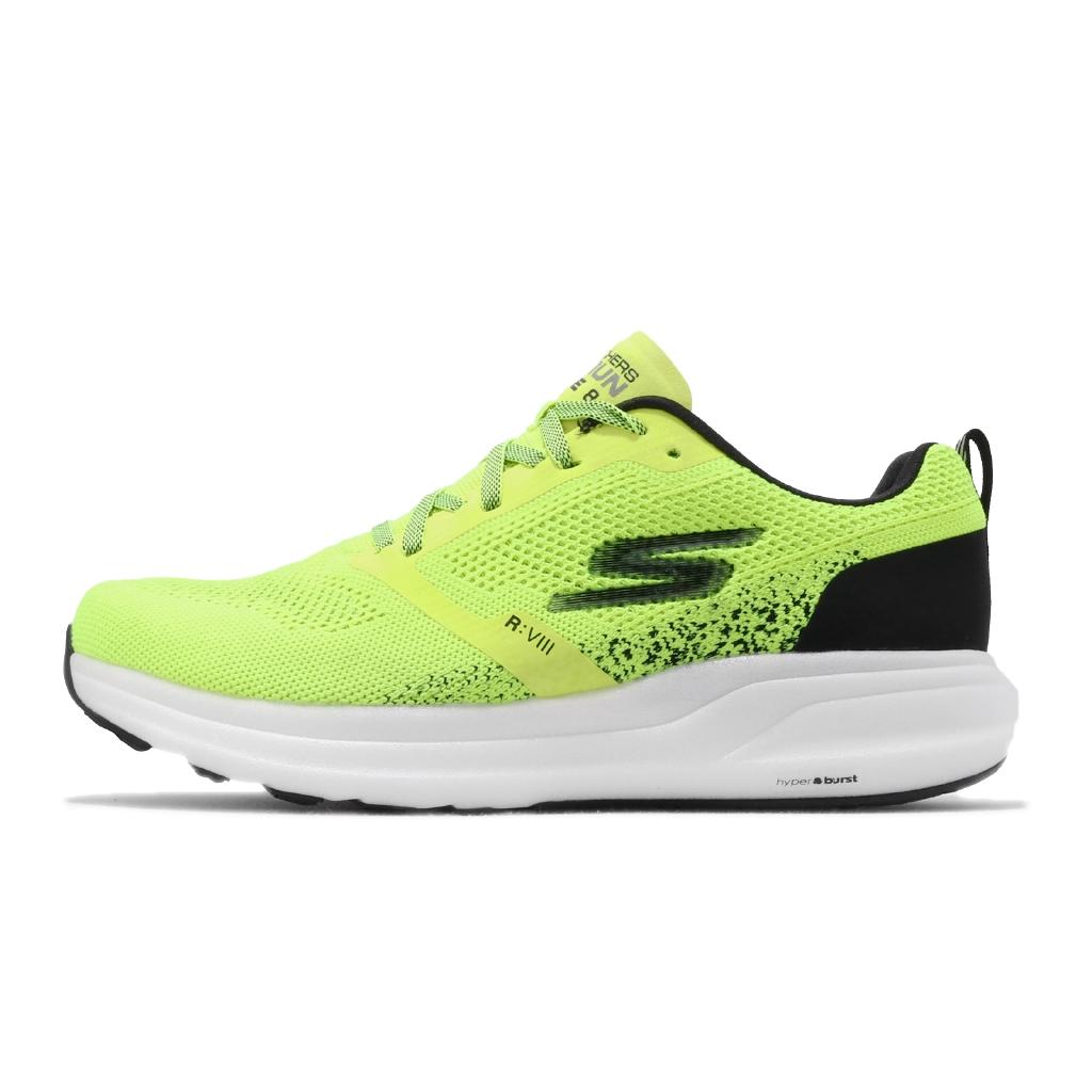 Skechers 慢跑鞋 Go Run Ride 8 螢光黃 避震穩定 運動鞋 男鞋 【ACS】 55224 YLBK