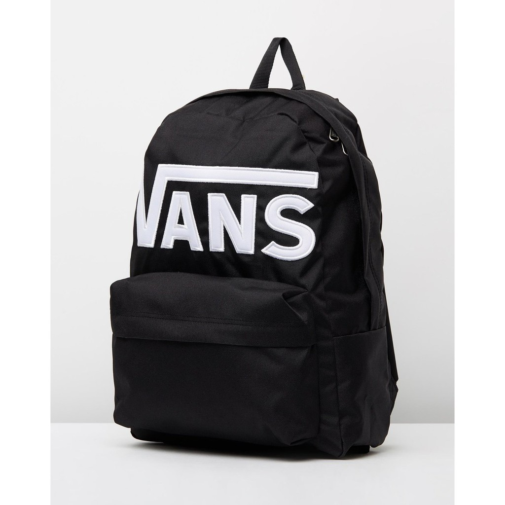 [MR.CH]Vans Old Skool Backpack 大LOGO 後背包 刺繡 黑 582404BW