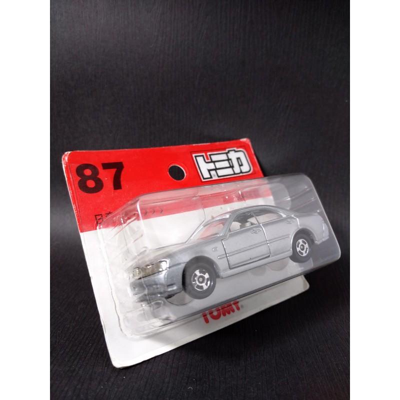 TOMICA 87 NISSAN CEDRIC 紅標 吊卡 中國製 舊紅標