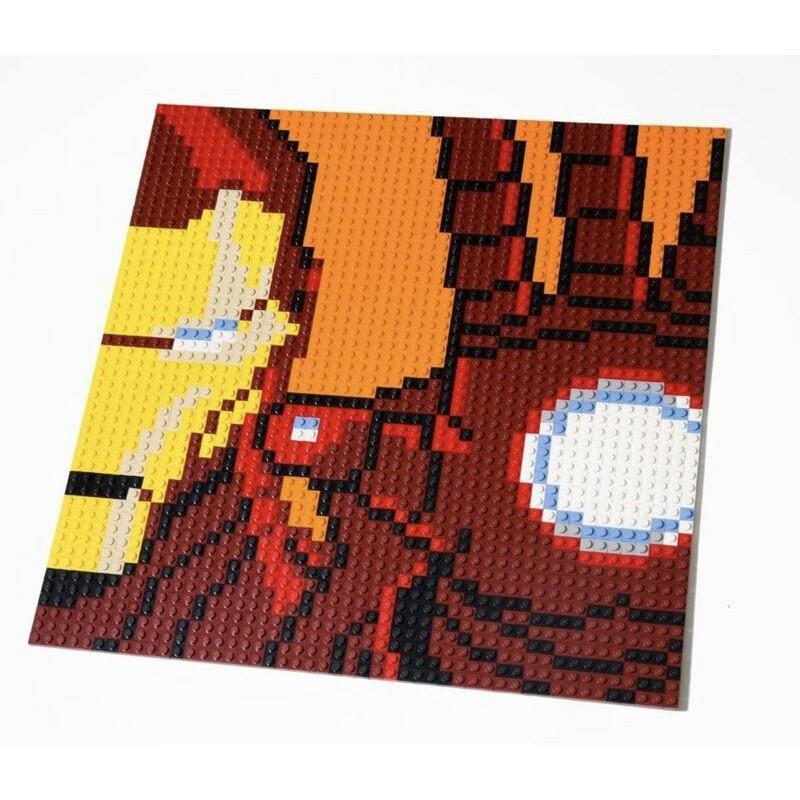 全新 樂高 LEGO 76105 鋼鐵人馬賽克 非31199