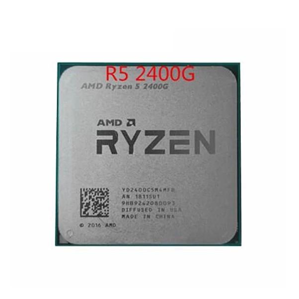 Amd Ryzen 5 2400g R5 2400g 3.6 Ghz 四核四核四線程 65w Cpu 處理器 Yd240