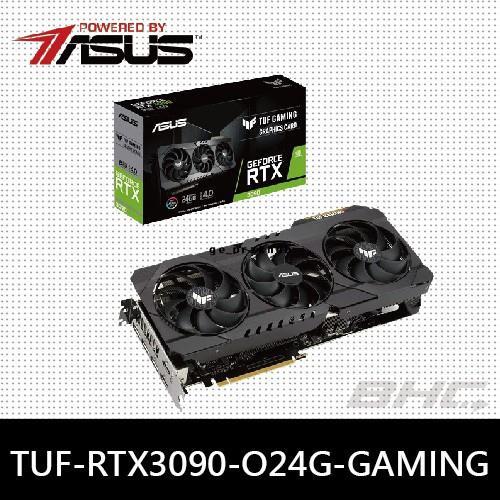 🔥【現貨】華碩 TUF-RTX3090-O24G-GAMING 顯示卡(需搭主機板)ER#3