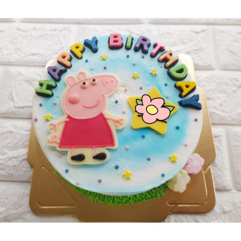 ❤甜甜棉花糖❤ 佩佩豬 粉紅豬 造型蛋糕 生日蛋糕 6吋8吋10吋12吋 鶯歌  可自取