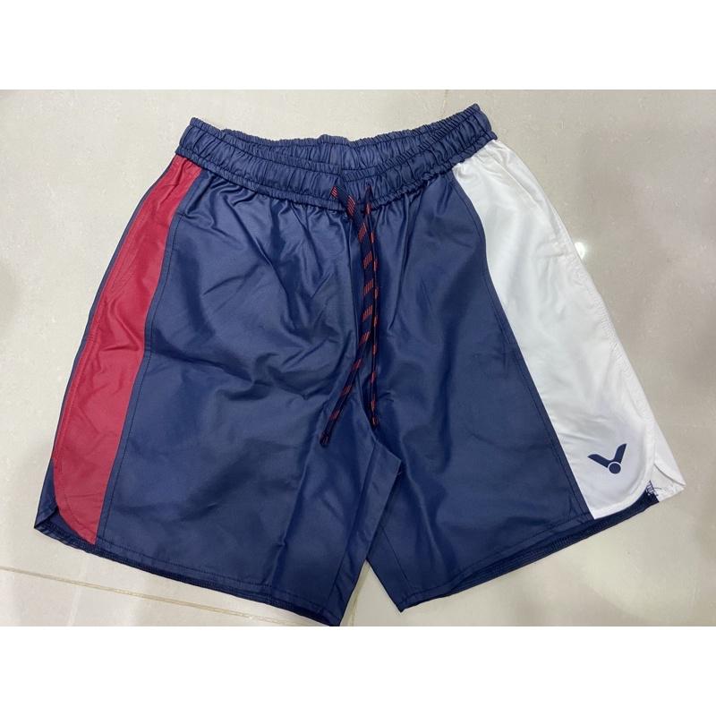VICTOR 勝利體育 東京奧運中華隊休閒短褲S(R-2040 F 藍)