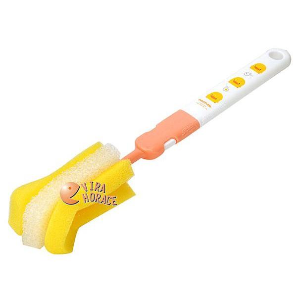 黃色小鴨 組合式奶瓶刷(另售組合式奶瓶刷專用刷頭2入裝GT83205)GT83173 HORACE