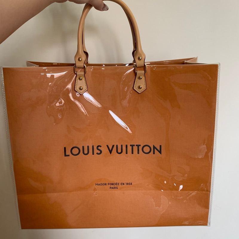 Louis Vuitton 精緻手工製改造紙袋/LV包包(大)