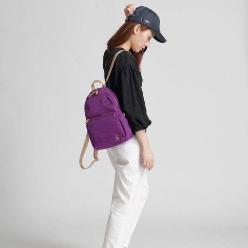 ☆SUMDEX☆人體工學設計 休閒後背包 網路最低價 樂遊遊 輕旅行 後背包 休閒 時尚 流行 簡約 770PU 紫色